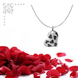Joyas para San Valentín en forma de corazón
