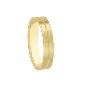 Alianza boda Brisa Oro amarillo
