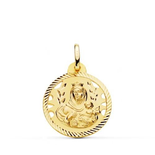 Medalla Virgen del Carmen Oro 18k