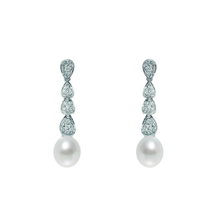 Pendiente Novia Alexia Diamantes y Perlas2