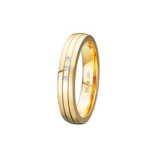 alianza-boda-oro-amarillo-plana-ranuras-3-diamantes
