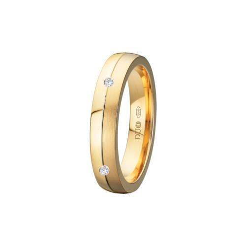 alianza-boda-oro-amarillo-semiplana-ranura-central-2-diamantes
